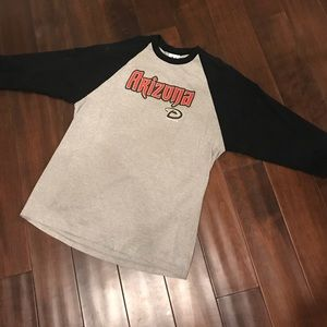 Arizona Diamondbacks 3/4 Sleeve MLB Tee